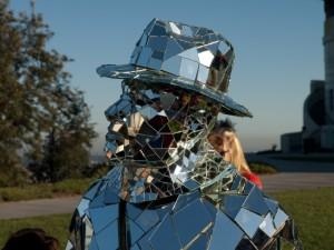 Mirror Man face close-up