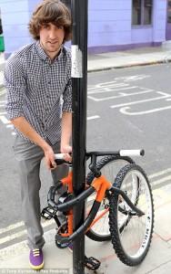 Bendy bike, folding bicycle