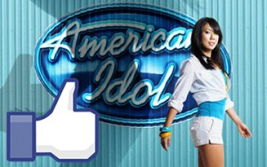 american idol voting via facebook
