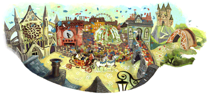 A special Google Doodle for the Royal Wedding